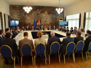 EU pojadok Klub na pratenici Bujar Osmani EU ambasadori 9maj18 - SEP