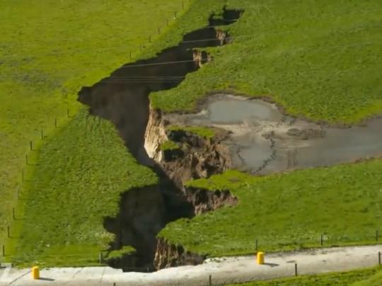 Sinkhole New Zealand