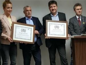 Zvonko Kostovski i Gjorgi Lazarevski nagrada Prishtina mar18