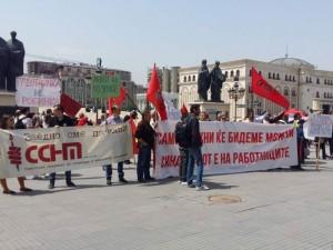 prvi maj protest