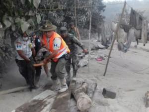 Gvatemala vulkan pepel povredeni 3jun18