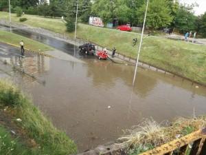 Poplaven podvoznik Juzhen bulevar 13jul2018 - Meta