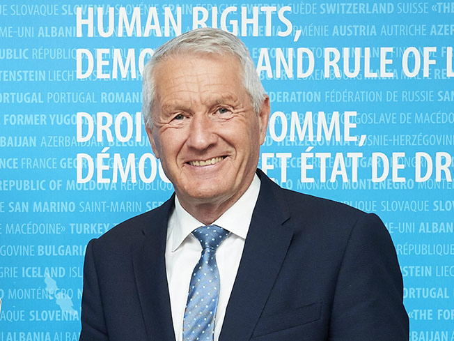 Torbjorn Jagland - Council of Europe