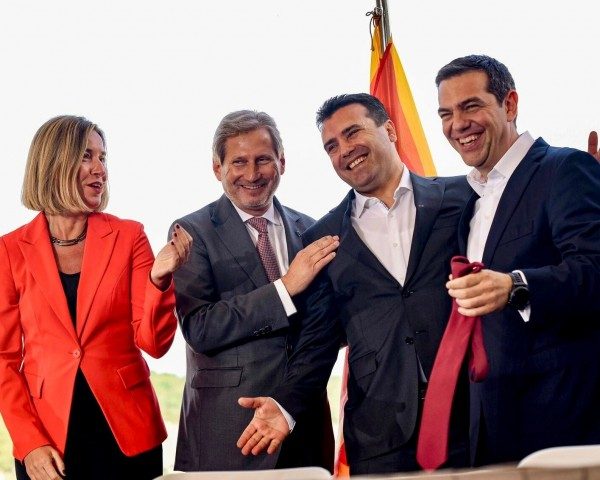 Zaev Cipras Han Mogerini prespa dogovor