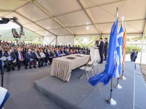 Zaev i Cipras potpisuvanje na Dogovor Prespa