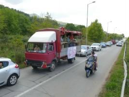 2 Protest karvan Ohridsko Ezero 31jul18 - Ohrid SOS