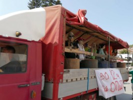 3 Protest karvan Ohridsko Ezero 31jul18 - Ohrid SOS