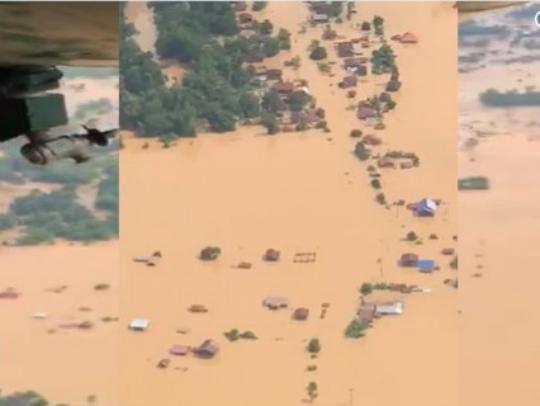 Laos poplava brana 24jul18