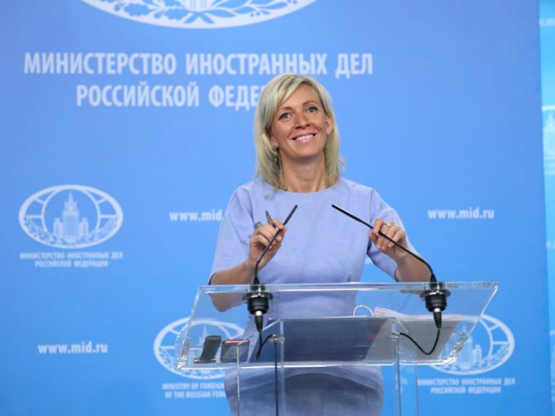 Marija Zaharova 12jul18 - Rusko MNR