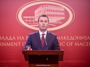 Minister za obrazovanie i nauka Arber Ademi pres konferencija 31jul18 - Vlada