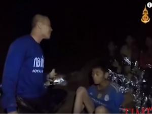 Momchinjata zaglaveni vo peshter vo Tajland jul18 - screenshot
