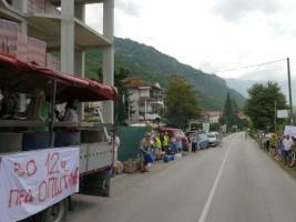 Protest karvan Ohridsko Ezero 31jul18 - Ohrid SOS