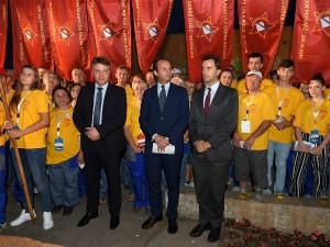 Skopski zemjotres Shilegov akcijashi rabotni akcii Izlozhba 26 juli 2018 - GradSkopje