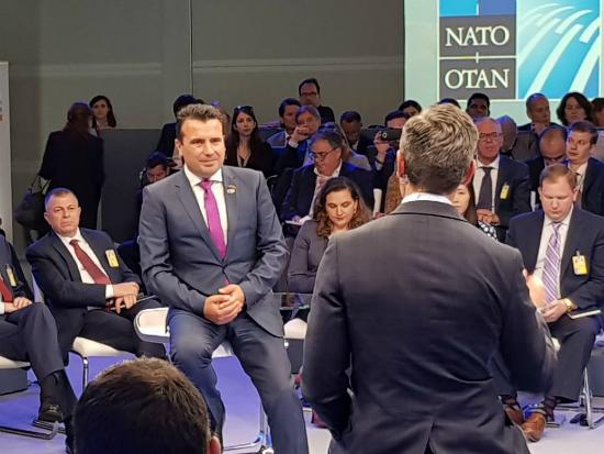 Zaev NATO Debata Brisel 11jul18 - Vlada