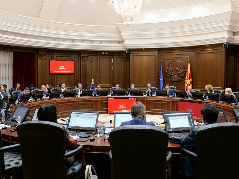 Zoran Zaev Johanes Han i ministri 17jul18 - Vlada
