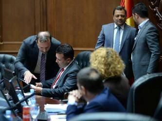 Sednica Zaev Angjushev Spasovski minister za ekonomija 14avg18 - Vlada