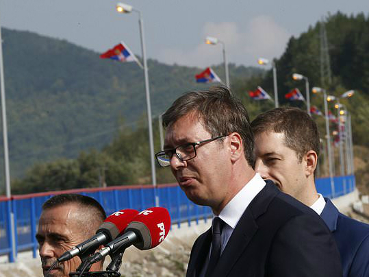 Aleksandar Vuchich Gazivode Kosovo 8sep18