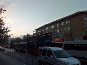 Gradezhen fakultet Partizanska avtobusi JSP privaten i kombi 14sep18 - Meta