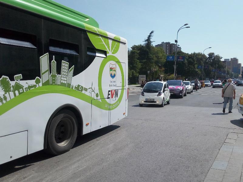 elektrichni avtomobili Tesla elektrichen avtobus gradski prevoz Skopje zagaduvanje vozduh Elektromobilnost20sep18 - Meta
