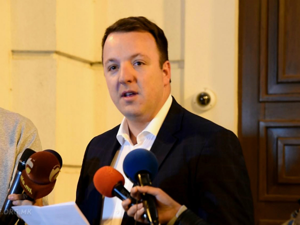 Aleksandar Nikoloski 3okt18 - VMRO-DPMNE