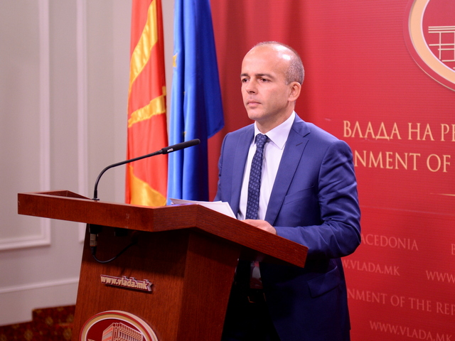 Dragan Tevdovski, rebalans