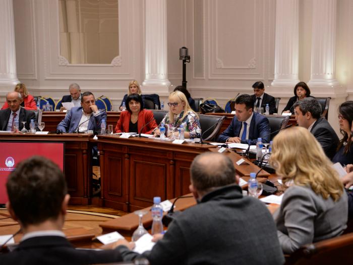 Sovet za sudski reformi 6-ta sednica 30okt18 - Vlada