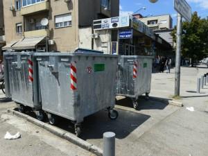 Kontejneri gjubre chistenje Komunalna higiena Bit Pazar avg18 - Grad Skopje