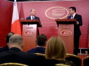 Zaev i Dzozef Muskat 14noe18 - Vlada
