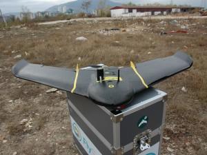 dron zagaduvanje na vozduh