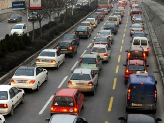 ulica avtomobili shpic soobrakjaj bulevar Goce Delchev guzhva - RSBSP