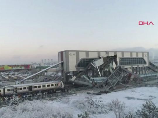 Zheleznichka stanica Marsindaz Ankara voz nesrekja 13dek18