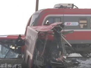 zheleznichka nesrekja voz avtobus Nish Ekspres Donje Megjurovo 21dek18 - screenshot