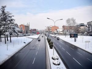 cisti ulici od sneg