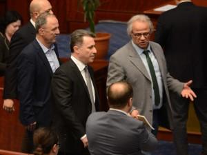 izglasan zakonot za jazicite Gruevski so jazikot