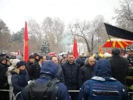 protest vmro pred sobranie
