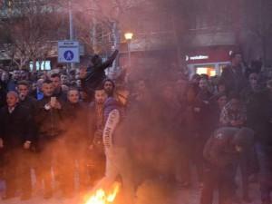 Protest Tirana 26fev19