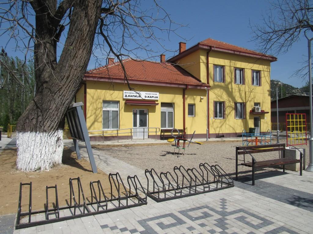 Реконструирана железничка станица во Демир Капија (1)