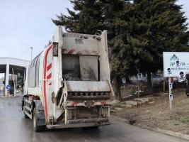 kamion za djubre Drisla protest ekologisti 1fev19 - Borche Popovski