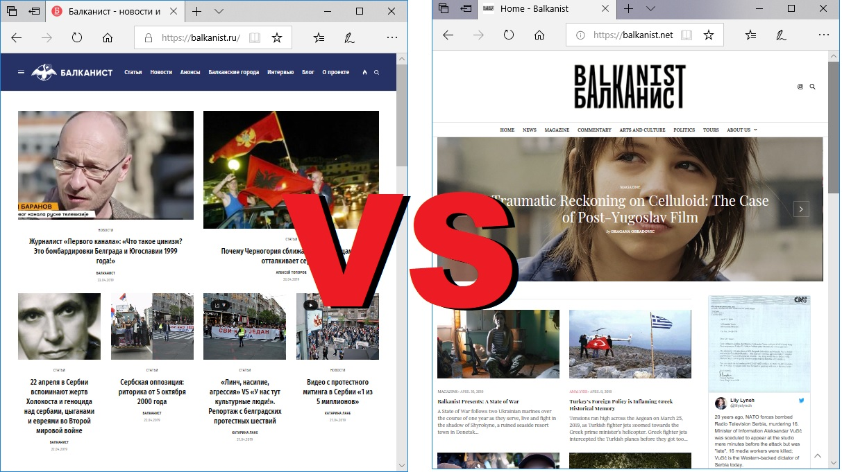 Russian website attempts to take over established online magazine