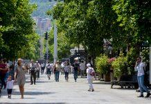 toplo ulica Makedonija minuvachi shetanje