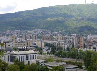 Skopje i Vodno sonce sonchevo