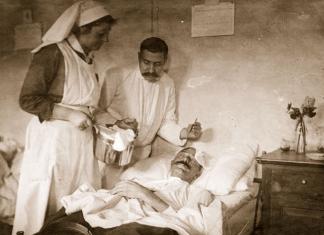 Фото: Болница во Битола -1916; Принтскрин -eprints.ugd.edu.mk