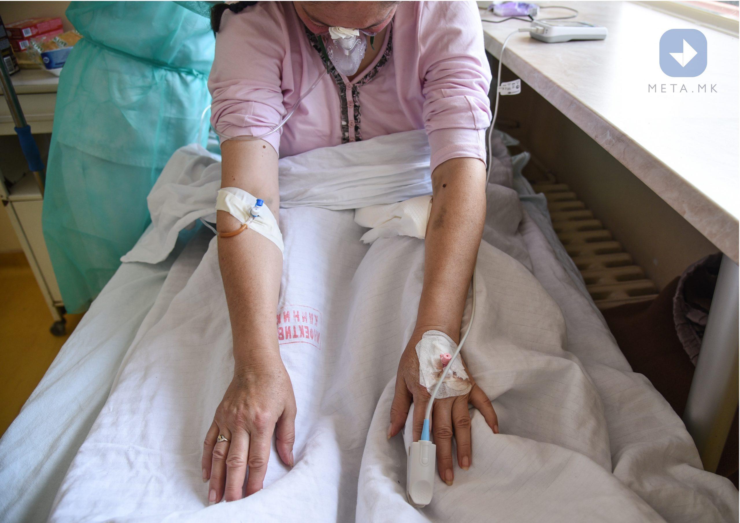 Клиника за инфективни болести и фебрилни состојби - Скопје | Фото: Арбнора Мехмети, Мета.мк