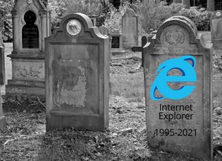 Интернет Експлорер згаснува