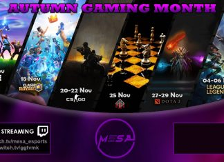 Autumn Gaming Month