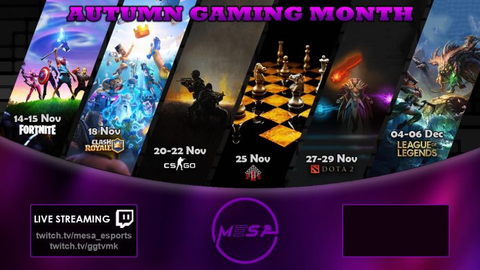 Autumn Gaming Month