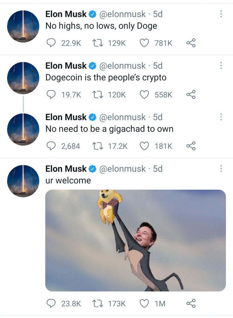 Tvitovi Musk