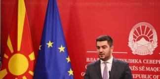Крешник Бектеши фото Влада на РСМ