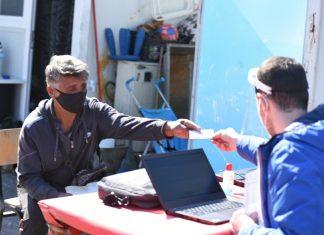 попис прифатен центар визбегово фото: МТСП