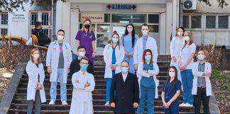 Венко Филипче и здравствени работници фото: Мин за здравство